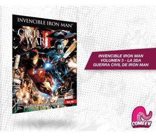 Invencible Iron Man Vol 3 La 2da Guerra Civil de Iron Man