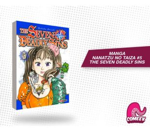Nanatzu No Taiza número 5 (The Seven Deadly Sins)