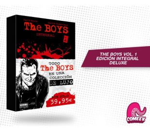 The Boys Volumen 1 Integral Deluxe