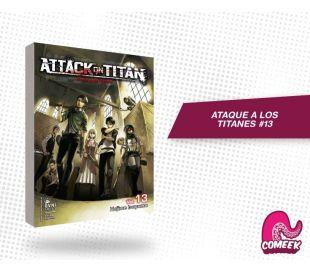 Ataque a los titanes número 13