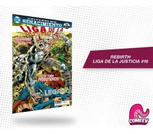 Liga de Justicia número 16 rebirth
