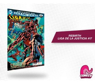 Liga de Justicia número 17 rebirth
