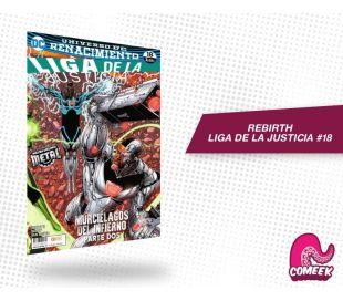 Liga de Justicia número 18 rebirth