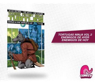 Tortugas Ninja Vol 2 Enemigos del Ayer Enemigos de Hoy