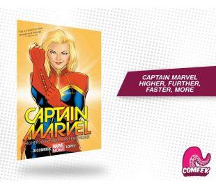 Captain Marvel Higher, Further, Faster, More