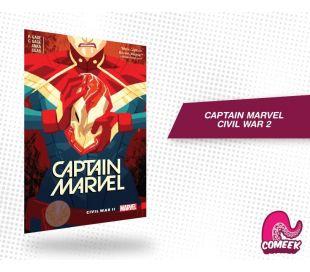Captain Marvel Civil War 2