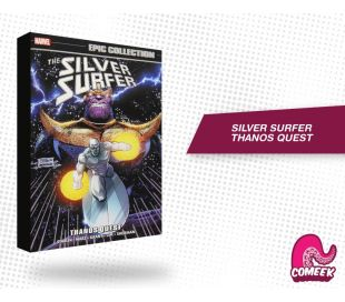 The Silver Surfer Thanos Quest