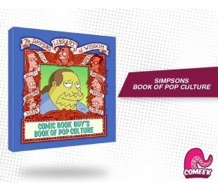Simpsons Comic Book Guy's Book of Pop Culture