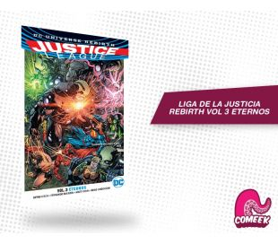 Liga de la Justicia Rebirth Vol 3 Eternos