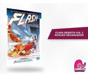 Flash Rebirth Vol 3 Rogues Recargados