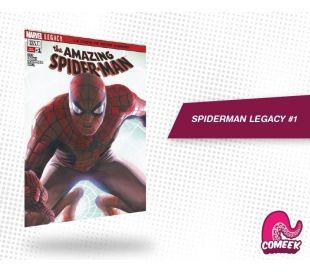 Amazing Spiderman Legacy número 1