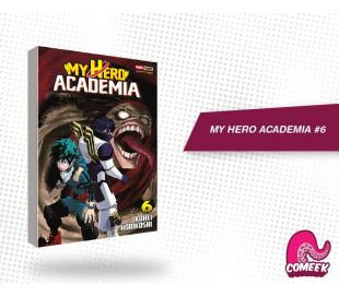 My Hero Academia número 6