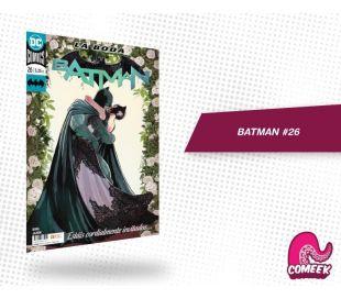 Batman número 26 La boda de Batman