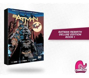 Batman Rebirth Deluxe Book 1