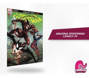 Amazing Spiderman Legacy número 4