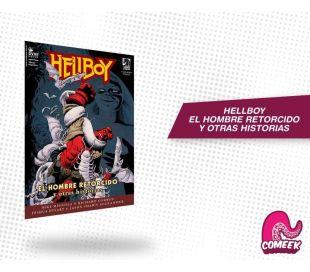 Hellboy El Hombre Retorcido y Otras Historias