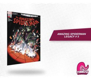 Amazing Spiderman Legacy número 5