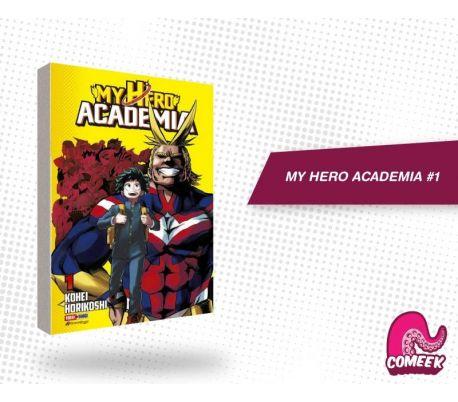 My Hero Academia número 1