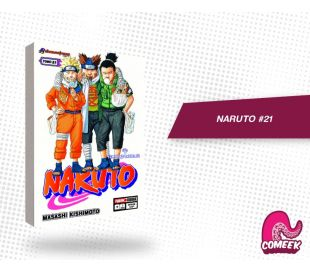 Naruto número 21