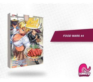 Food Wars número 4