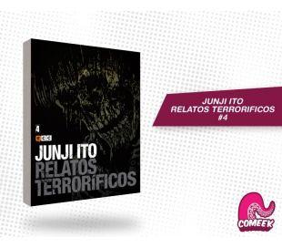 Junji Ito Relatos Terrorificos número 4