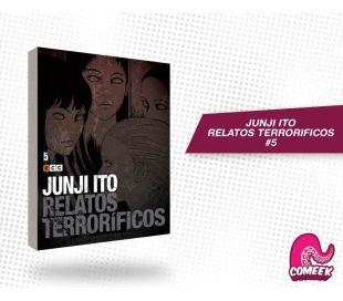 Junji Ito Relatos Terrorificos número 5