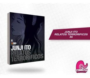 Junji Ito Relatos Terrorificos número 6