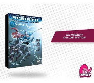 Dc universe rebirth the deluxe edition
