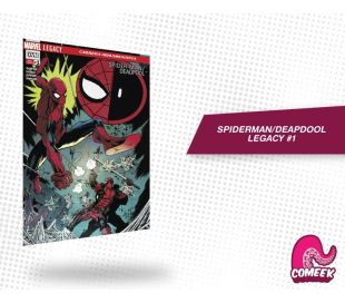 Spiderman Deadpool Legacy número 1