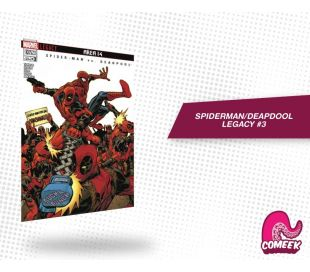 Spiderman Deadpool Legacy número 3