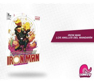 Iron Man Anillos del Mandarín