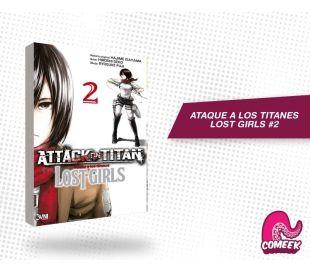 Ataque a los titanes Lost Girls número 2