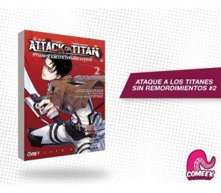 Ataque a los titanes Sin Remordimientos número 2
