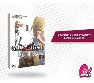 Ataque a los titanes Lost Girls número 1