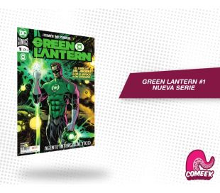 Green lantern número 1 nueva serie