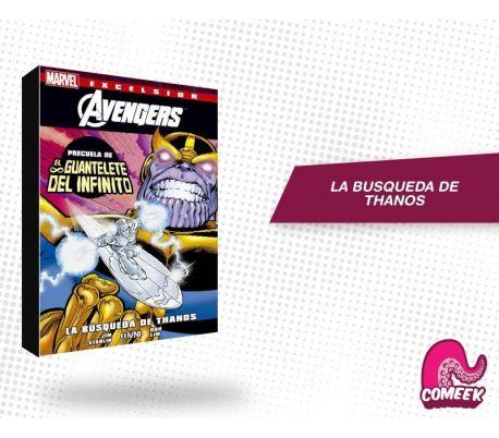 La Búsqueda de Thanos (precuela guantelete del infinito)