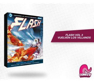Flash Vol 3 Vuelven los Villanos