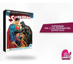Superman Vol 2 Las Pruebas del Superhijo