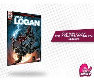 Old Man Logan Samurái Escarlata Legacy