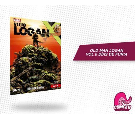 Old Man Logan Vol 6 Días de Furia