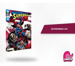 Comic Superman número 12