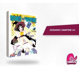 Rosario + Vampire número 4