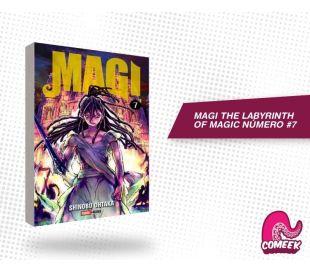 Magi The labyrinth of magic número 7