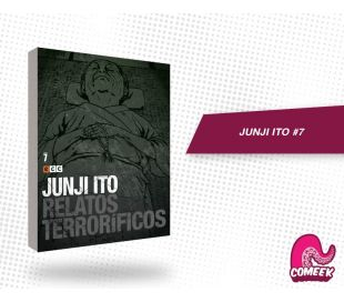Junji Ito Relatos Terrorificos número 7