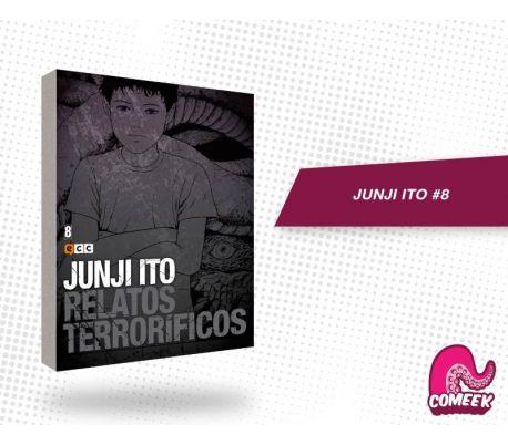 Junji Ito Relatos Terrorificos número 8