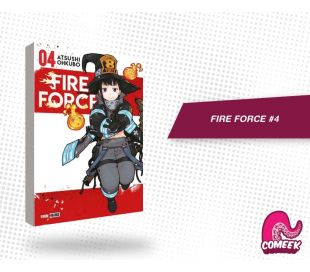 Fire Force número 4