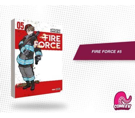 Fire Force número 5