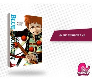 Blue Exorcist número 6