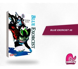 Blue Exorcist número 8