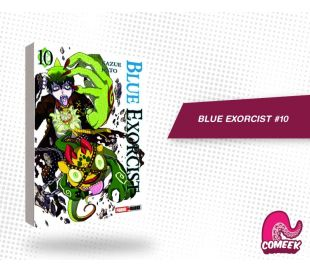 Blue Exorcist número 10